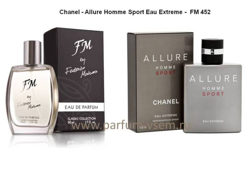 Chanel Allure Homme Sport Eau Extreme Fm Group 452 увеличенная